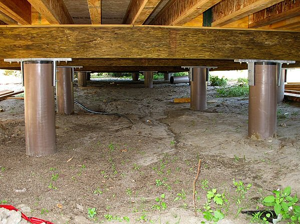 Pilings House Foundation Images
